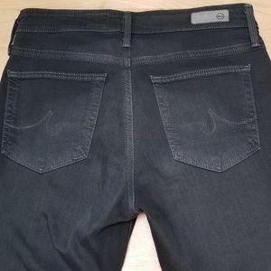 Ag Adriano Goldschmied Jeans - AG | THE FARRAH HIGH-RISE SKINNY, DK GRAY, SZ 26R